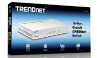 SWITCH TRENDNET TEG-S16D 16 PUERTOS GIGABIT 10/100/1000 DESKTOP