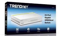 SWITCH TRENDNET TEG-S24D 24 PUERTOS GIGABIT 10/100/1000 DESKTOP