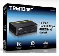 SWITCH TRENDNET TE100-S16DG 16 PUERTOS 10/100 DESKTOP