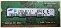MEMORIA NOTEBOOK SODIMM DDR3L 1600 4GB PC12800 1.35V M471B5173DB0-YK
