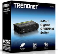 SWITCH TRENDNET TEG-S5G 5 PUERTOS GIGABIT 10/100/1000