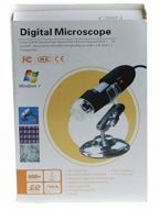 CAMERA MAGNIFIER DIGITAL MICROSCOPE ENDOSCOPE 50-500X 2MP USB 8 LED
