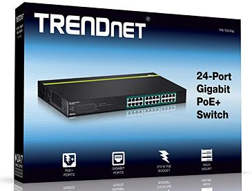 SWITCH TRENDNET TPE-TG240G 24 PUERTOS GIGABIT POE+