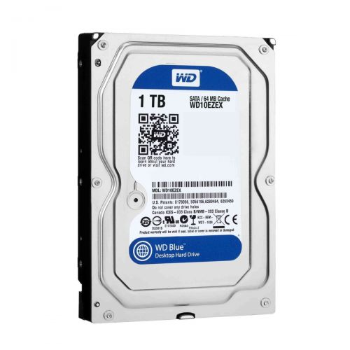 DISCO DURO PC 1TB SATA 7200 64MB W DIGITAL WD10EZEX AZUL