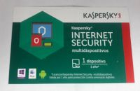 ANTIVIRUS KASPERSKY INTERNET SECURITY  1AÑO