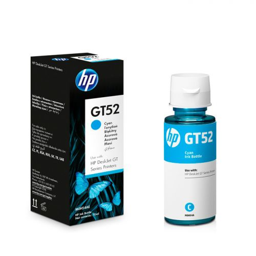 BOTELLA DE TINTA HP GT52 CYAN 90ML
