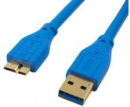 CABLE USB  3.0 AM  6FT 2METROS AZUL MANHATTAN 325424