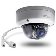 CAMARA IP TRENDNET TV-IP321PI OUTDOOR 1.3MP HD POE DOME IR NETWORK