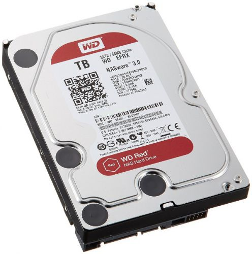 DISCO DURO PC 4TB SATA 5400 64MB W DIGITAL WD40EFRX/EFAX ROJO