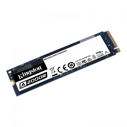 DISCO SOLIDO 1TB M.2 2280 PCIE NVME KINGSTON SA2000M8/1000G
