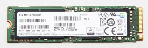 DISCO SOLIDO SSD PCIE 256GB SAMSUNG PM951