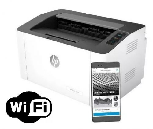 IMPRESORA LASERJET H PACKARD 107W WIRELESS USB