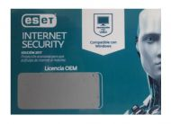 ANTIVIRUS  ESET INTERNET SECURITY LICENCIA 12 MESES
