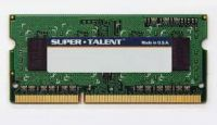 MEMORIA NOTEBOOK DDR3 1333 1GB SUPER TALENT PC10600
