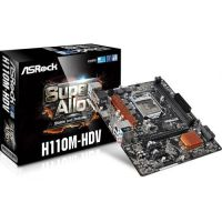 MOTHER BOARD ASROCK H110M-HDS R3.0 LGA 1151 DDR4 HDMI-DVI-D