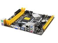 MOTHER BOARD BIOSTAR H81MHV3 DDR3 USB VGA HDMI RED LGA1150