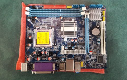MOTHER BOARD FOXCONN DJ-G41 LGA775 DDR3 VGA SERIAL PARALELO RED PS2 (SIN CAJA)