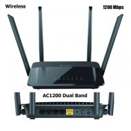 ROUTER D-LINK WIRELESS 1200MBPS DIR-822 DUAL BAND AC1200