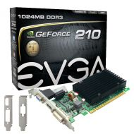 TARJETA DE VIDEO 1GB PCI EXPRESS EVGA NVIDIA GEFORCE 210 DDR3 DVI-I/HDMI/VGA (LP)