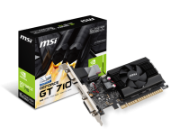 TARJETA DE VIDEO 2GB PCI EXPRESS GIGABYTE GEFORCE GT710 DDR3