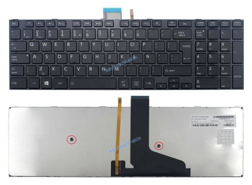 TECLADO NOTEBOOK TOSHIBA SATELLITE S50-A S50D-A S50DT-A S50T-A S55-A